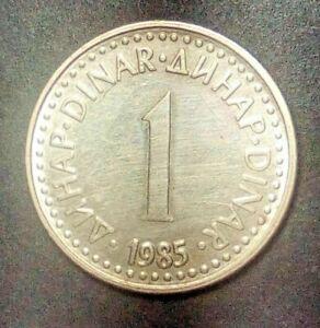 Yugoslavia 1 dinar 1985  Combined Shipping