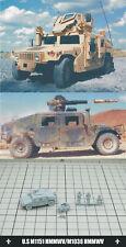 1/144 RESIN KITS U.S M1151 HMMWV/M1036 HMMWV