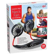 Sports Cou-mounted Fan multi-lame Rechargeable USB Mini refroidisseur d'air Sport Run