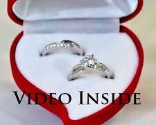 Exzellente Diamanten-Ringe aus Platin mit Brillantschliff
