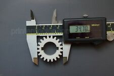 Atlas Craftsman 10 12 Inch Lathe 20 Tooth 34 Keyed Bore Gear Nylon Usa Made