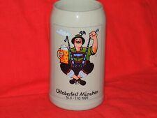 Oktoberfest Munchen 1989 Rastal Beer Stein Mug EXCELLENT!
