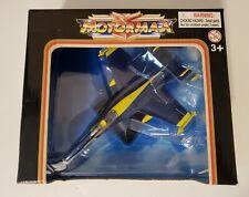 VINTAGE MOTORMAX FAMOUS FIGHTERS F-18 HORNET 1/100 SCALE DIECAST MODEL BNIB!!!