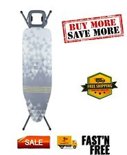 Homecare Velocity Ironing Board, 4 Leg Design - Robust and sturdy, 48 x 15in