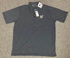 New listing MLB Milwaukee Brewers Polo Shirt Golf Shirt Mens Size XL NWT