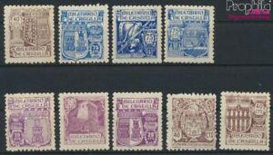 Spagna 914-922 (completa edizione) con Fold 1944 Kastilien (9368116