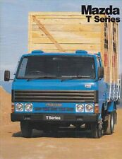 1985 MAZDA T-SERIES TRUCK Australian 12p Brochure T3500 & T4100