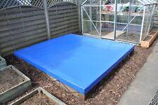 SANDPIT COVER 302CM X 275CM X 10CM - REINFORCED TOP GRADE PVC - UK MADE