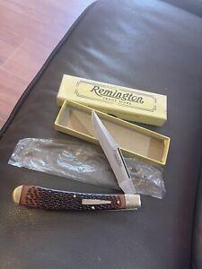 Remington Bullet  Knife Mint Delrin Handle 1989 Must See Nr Old/vintage Camillus