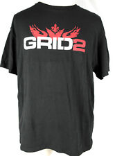Grid 2 XL Black T-Shirt: Intel Promo Gaming Shirt -PS3 XBOX 360 PC Video Game