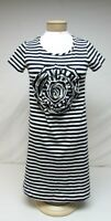Kate Spade womens size S Small blue white striped dress short sleeve