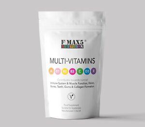 120 Multivitamin tablets - Vitamins A,B,C,D & E 100% NRV (RDA) Multi Vitamins