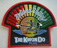 Inland Valley, California Tae Kwon Do Plus Embroidered Patch. -new