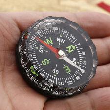 Black DIY Oil-Filled Waterproof Mini Pocket Compass Outdoors Survive Hiking Gear