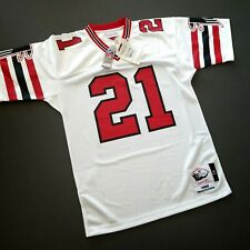 100% Authentic Deion Sanders Mitchell Ness 1989 Falcons Jersey Size 48 XL Mens