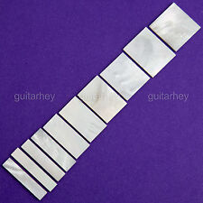 NEW 10 Inlay Set Mother of Pearl Style for Gibson Les Paul Custom Guitars