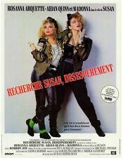 Affiche 120x160cm RECHERCHE SUSAN DÉSESPÉRÉMENT Rosanna Arquette, Madonna NEUVE