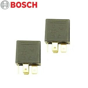 Fits BMW E12 320i 528i 530i Volvo 745 Set of 2 Fuel Pump Relays Bosch 0332019151