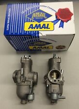 TRIUMPH CARB SET AMAL 626 PREMIER  ALUMINUM CARBURETORS RIGHT/LEFT-  NEW!!!