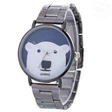 2017 Fashion Luxury Women Ladies Bear Design  Alloy Strap Quartz Wrist Watches
