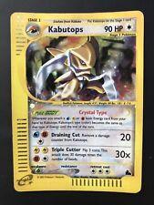 Crystal Kabutops 150/144 Holo Pokemon Card Skyridge Set
