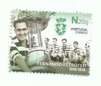 Portugal 2018 - Centenary Fernando Peyroteo, striker set MNH