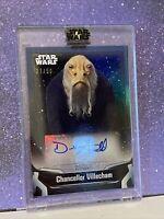Star Wars Signature Series 2021 #27/50 Derek Arnold As Chancellor Villecham
