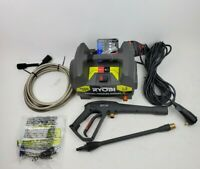 RYOBI Electric Pressure Washer 1600 PSI 1.2 GPM 1600 PSI Turbo Nozzle RY141612