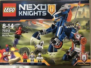 LEGO 70312 NEXO KNIGHTS LANCER'S MECHA HORSE new unopened box