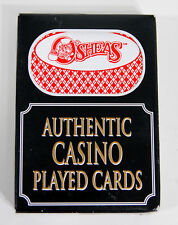 1 Deck Authentic Played Cards from O'Sheas's Casino Las Vegas, Nevada