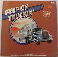 "KEEP ON TRUCKIN Various Artists LP Album 12"" 33rpm Vinyl Excellent"