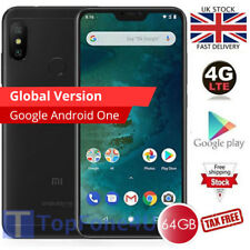 "GLOBAL Xiaomi Mi A2 Lite 5.84"" FHD+ Dual Sim 4G LTE 4GB 64GB Unlocked Black"