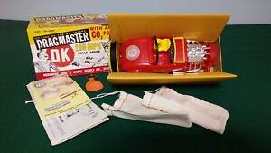 Vintage Herkimer OK Cub Dragmaster Tether Car w/CO2 Engine in Original Box