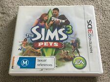 The Sims 3 Pets Nintendo 3DS PAL Version