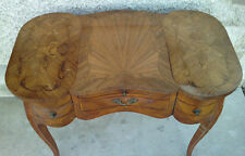 coiffeuse style louis XV PLACAGE BOIS table console