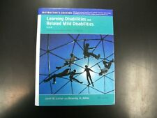 Learning Disabilities and Related Mild Disabilities Lerner 12th Twelfth Textbook