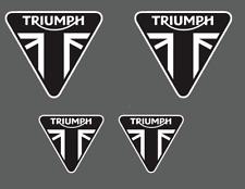 4 Aufkleber TRIUMPH Motorrad stickers daytona 675 speed street DREIFACHE TIGER