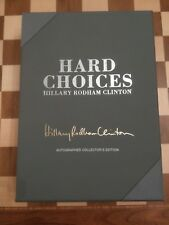 Hard Choices SIGNED Hillary Rodham Clinton HB Autographed Collector's US Edition