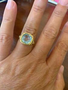 Adi Paz blue topaz ring