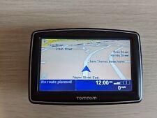 TomTom XL N14644 navegación vía satélite, excelentes condiciones, caso, montaje de coche y cargador de coche