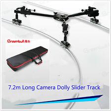 Video camra Slider Dolly 7.2m camera track MAX Load 30KG Portable slider track