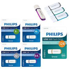 Pendrive Philips 8GB, 16GB, 32GB, 64GB (USB2.0) 128GB (USB3.0) Alta Velocidad