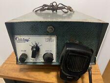 Vtg. Citi-Fone Model Cd-5 Base Station Cb Radio w/Mic Multi-Products Made Usa!