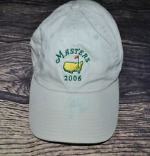 Signed 2006 Masters Augusta National Golf Club Cap Hat