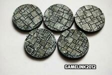 WARHAMMER BLANK MAKE YOUR OWN 120x 92mm PLASTIC RESIN BASES x 1