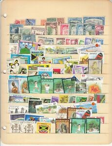 Jamaica Mini Collections 2 - See Picture - Mint & Used