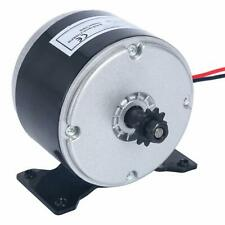 YaeTool DC 24V Electric Motor Brushed 250W 2750RPM Chain for E Scooter Drive