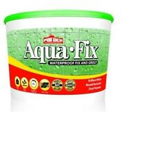 Aqua-Fix Waterproof Wall Tile Adhesive and Grout 0.75kg