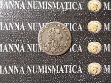 REGNO DI NAPOLI CARLO DI BORBONE 1/2 CARLINO 5 GRANA 1758 COD. NAESIC-84