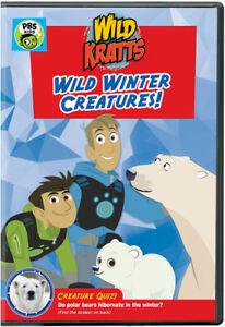 Wild Kratts: Wild Winter Creatures [New DVD]